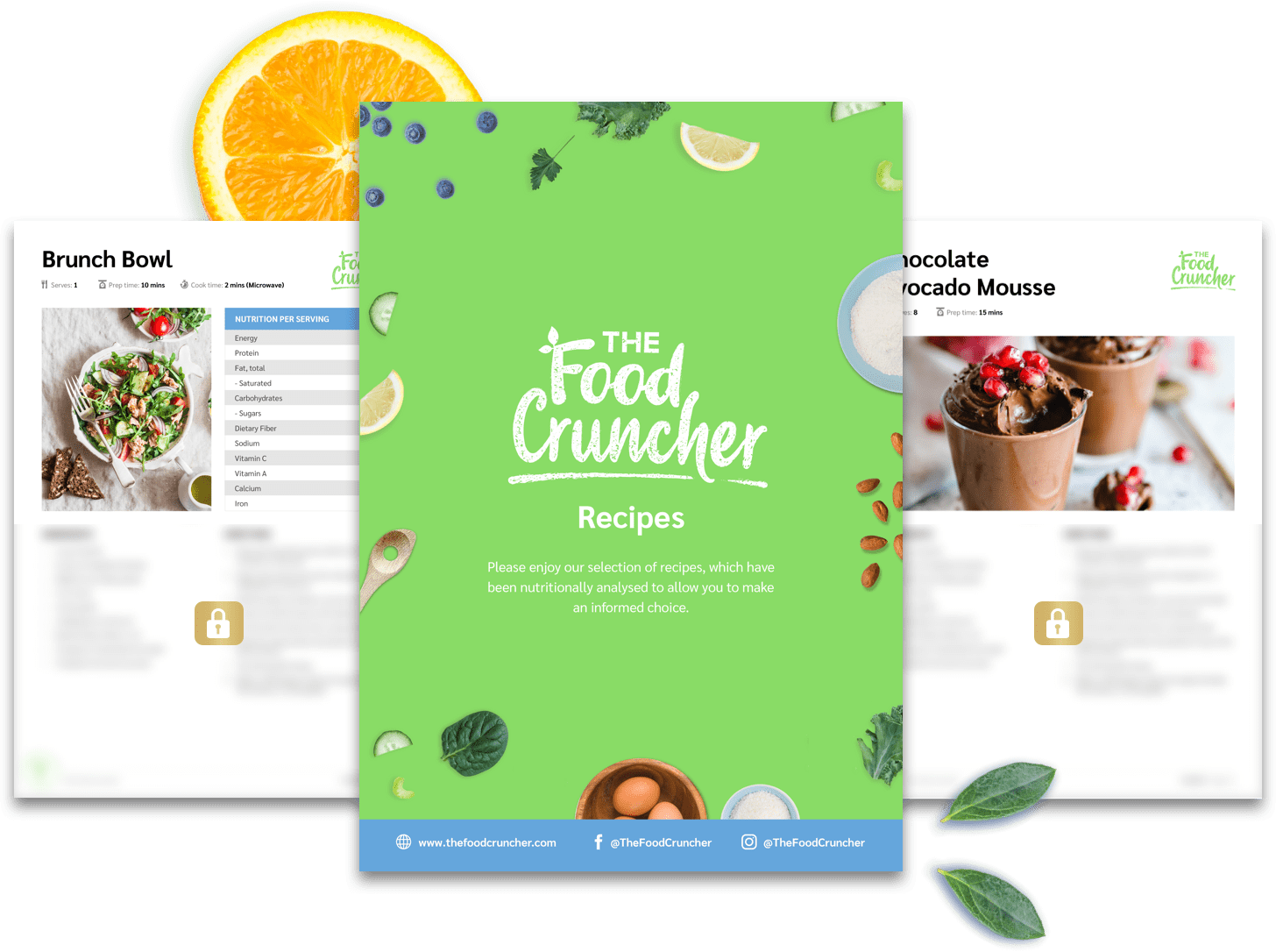 The Food Cruncher Recipes